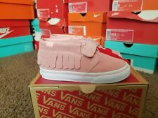 fa3cabc159 VANS Chukka V MOC (suede) Blossom Pink Toddlers Size 10 for sale ...