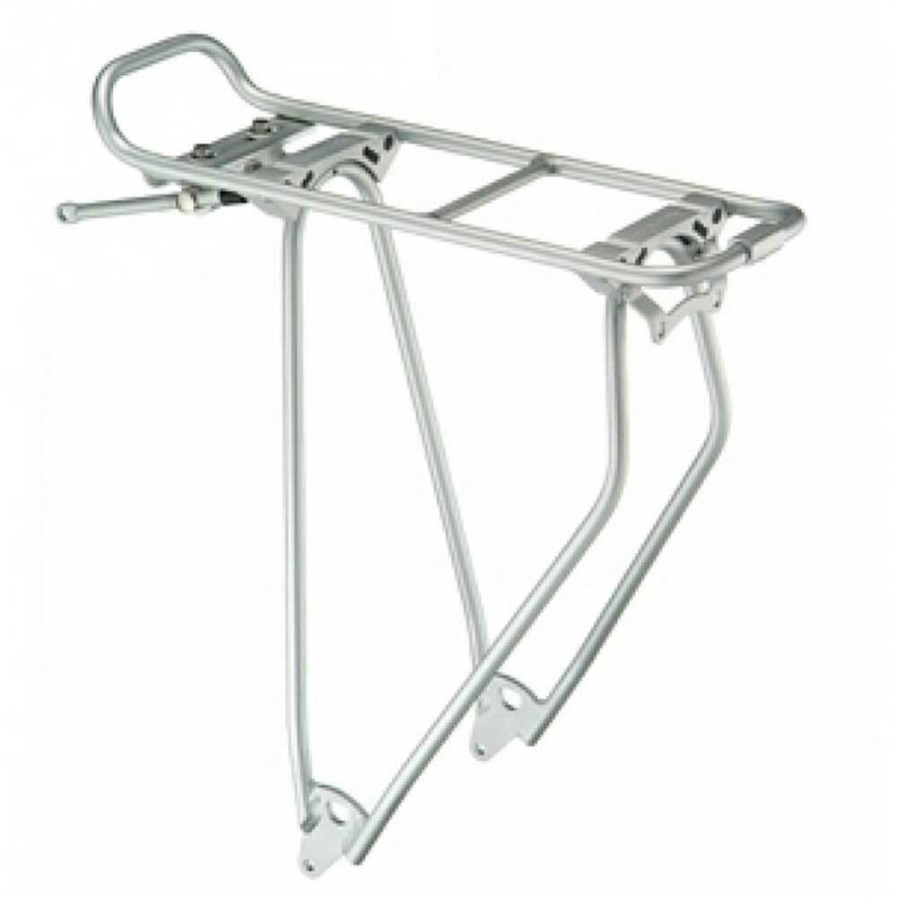 Portador de equipaje de sistema Racktime Standit 28  bicicleta bici de transportín trasero plata
