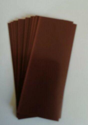 Schrumpfschlauch 18650 10 Stück Braun