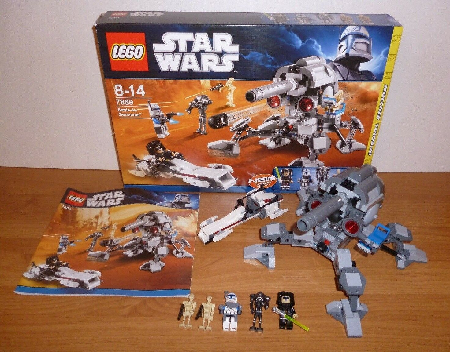 LEGO Star Wars Battle for Geonosis  7869, special edition con Ovp e BA, TOP