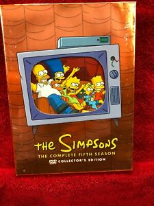 THE-SIMPSONS-THE-COMPLETE-FIFTH-SEASON-2004-EDITION-4-DVD-SET-WITH-INSERT