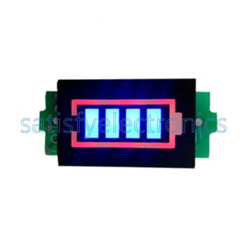 1S//2S//3S//4S 4.2//8.4//12.6//16.8V Lithium Battery Capacity Indicator Power Tester Y
