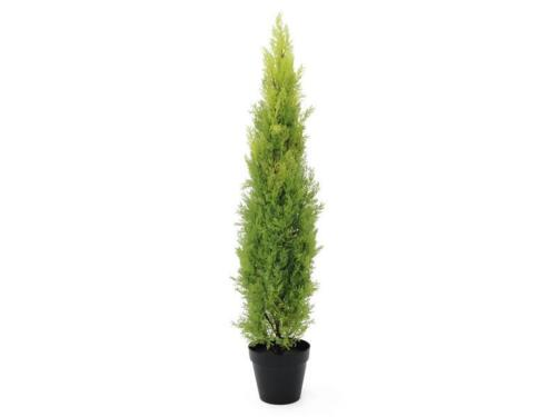 120cm Kunstpflanze Leyland Europalms Zypresse