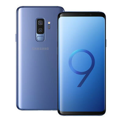 NUEVO Samsung Galaxy S9 Plus SM-G965F/DS 128GB LTE Doble SIM Desbloqueado AZUL