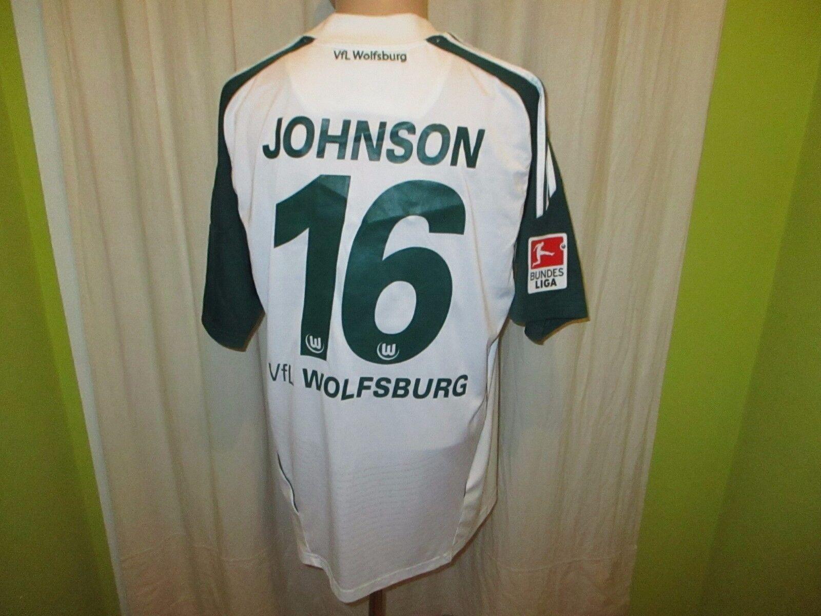 VfL Wolfsburg Original Adidas Adidas Adidas Heim Trikot 2010 11  VW  + Nr.16 Johnson Gr.L TOP edf1c8