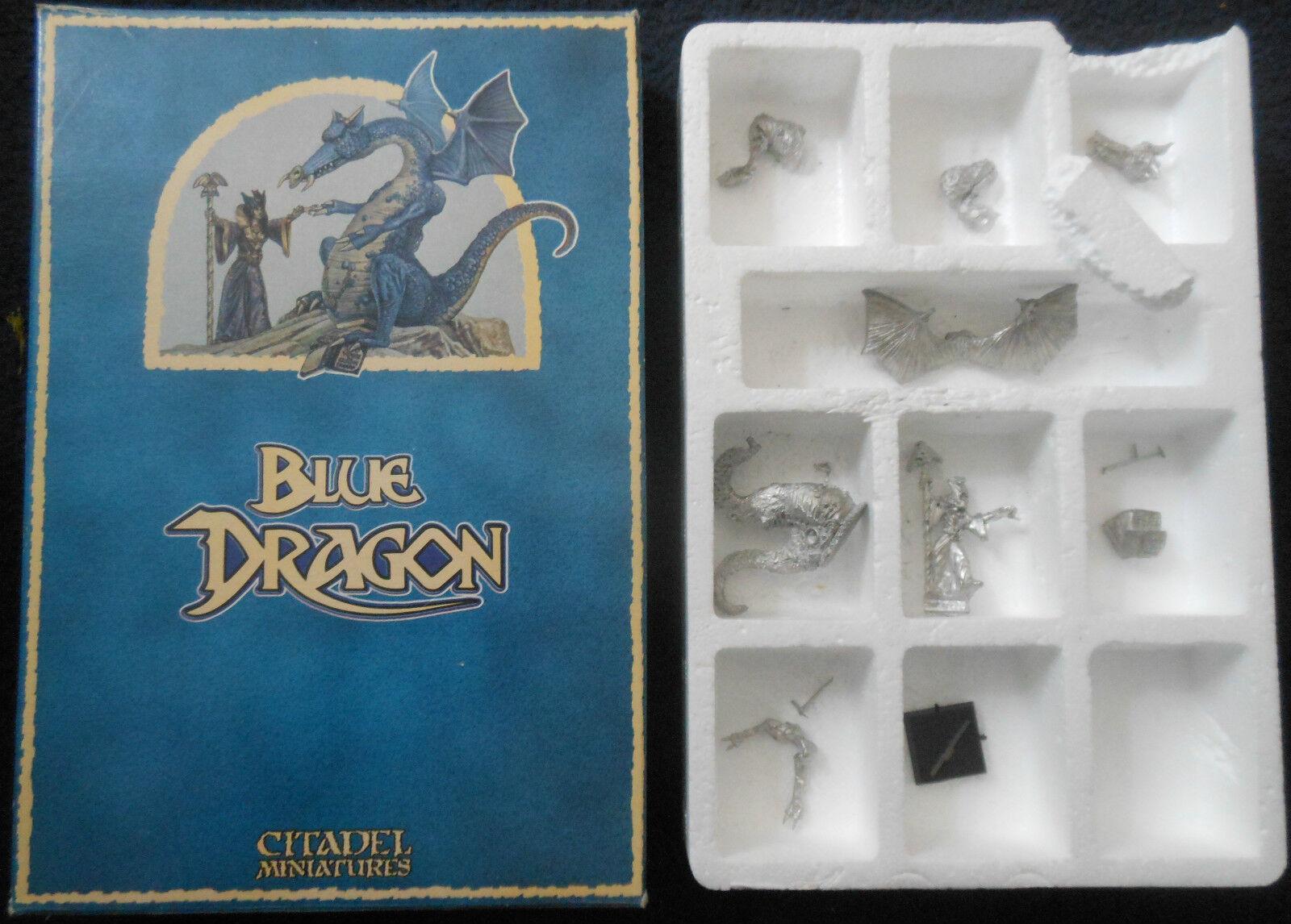 1987 DRAG2 blå Dungeons och drakes spelverkstad Citadel Sorceress Warhammer GW