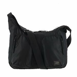 PORTER Yoshida Bag Shoulder Bag COMPART 538-16163 Black w/ Tracking NEW