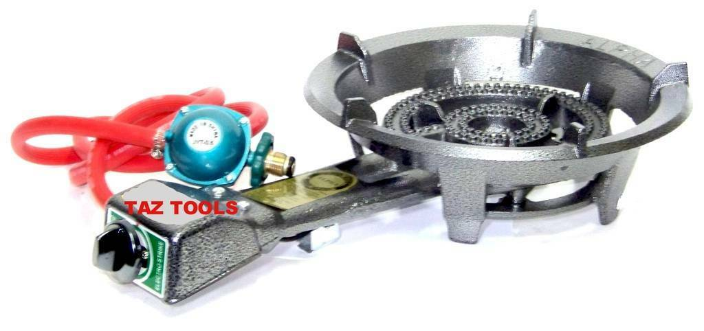 Super Gas Stove Large Propane Burner Electronic Ingnition Portable BBQ Grill HD