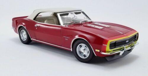 1968 Chevrolet Camaro SS Unicorn Convertible Red D88-Stripe PRE-ORDER LE MIB