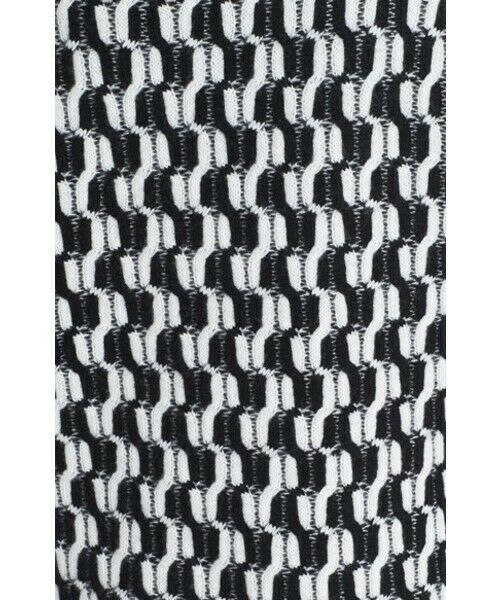 100% Cashmere NORDSTROM COLLECTION Black White Do… - image 3