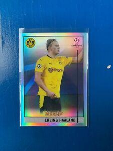 Topps Merlin Champions League 2020/21 Erling Haaland BVB Refractor