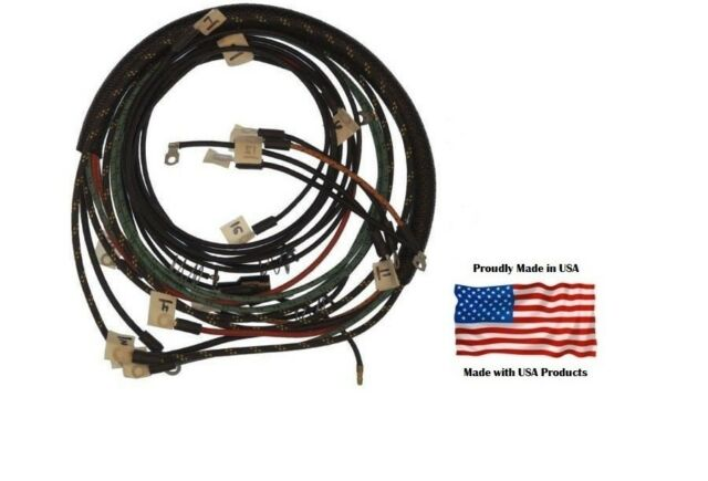 allis chalmers wd wiring harness allis chalmers branched wiring harness p n 74856639 13 branches  allis chalmers branched wiring harness