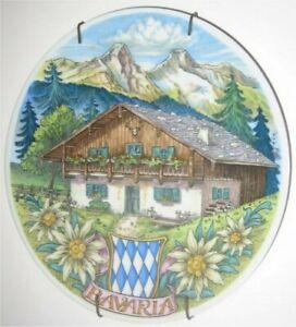 'Bavaria' Reutter Porcelaine West Allemagne Cabine Assiette stTmVFMs-08015411-760052289