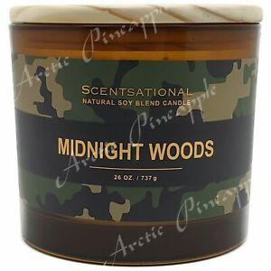 Scentsational-Natural-Soy-Blend-Large-26oz-Candle-Jar-Wood-Lid-Midnight-Woods