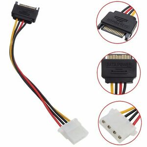 15-Pin-SATA-Male-to-4-Pin-Molex-Female-M-F-Power-Cable-Adapter-For-IDE-Drive-CD