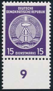 DDR-Dienst-MiNr-A-21-xII-XII-tadellos-postfrisch-Befund-Ruscher-Mi-250