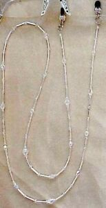 BLING-EYEGLASS-CHAIN-MADE-WITH-SWAROVSKI-CRYSTALS-CHAIN-ONLY-SILVER-OR-GOLD