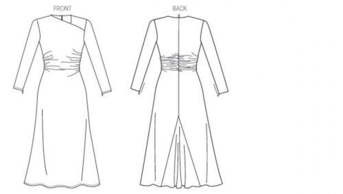 Vogue-1406-M Vogue Ladies Sewing Pattern 1406 Designer Dress