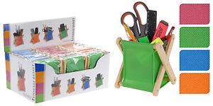 Foldable-Storage-Basket-Desk-Tidy-Pens-Pencil-Ruler-Paint-Brush-Phone-Holder