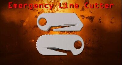 Scuba Diving. Emergency line cutter Paramotor Paragliding compact size NEW
