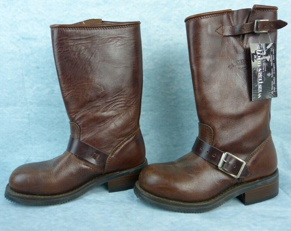 MEXICANA OLD OLD OLD GRINGO botas cuir Pointure 36 Fr - marrón - Modèle Pilat Dos  autorización