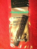 Ruger 10/22 Matte Black Scope Mount Base & Screws ++ By Weaver ++ Free Shipping