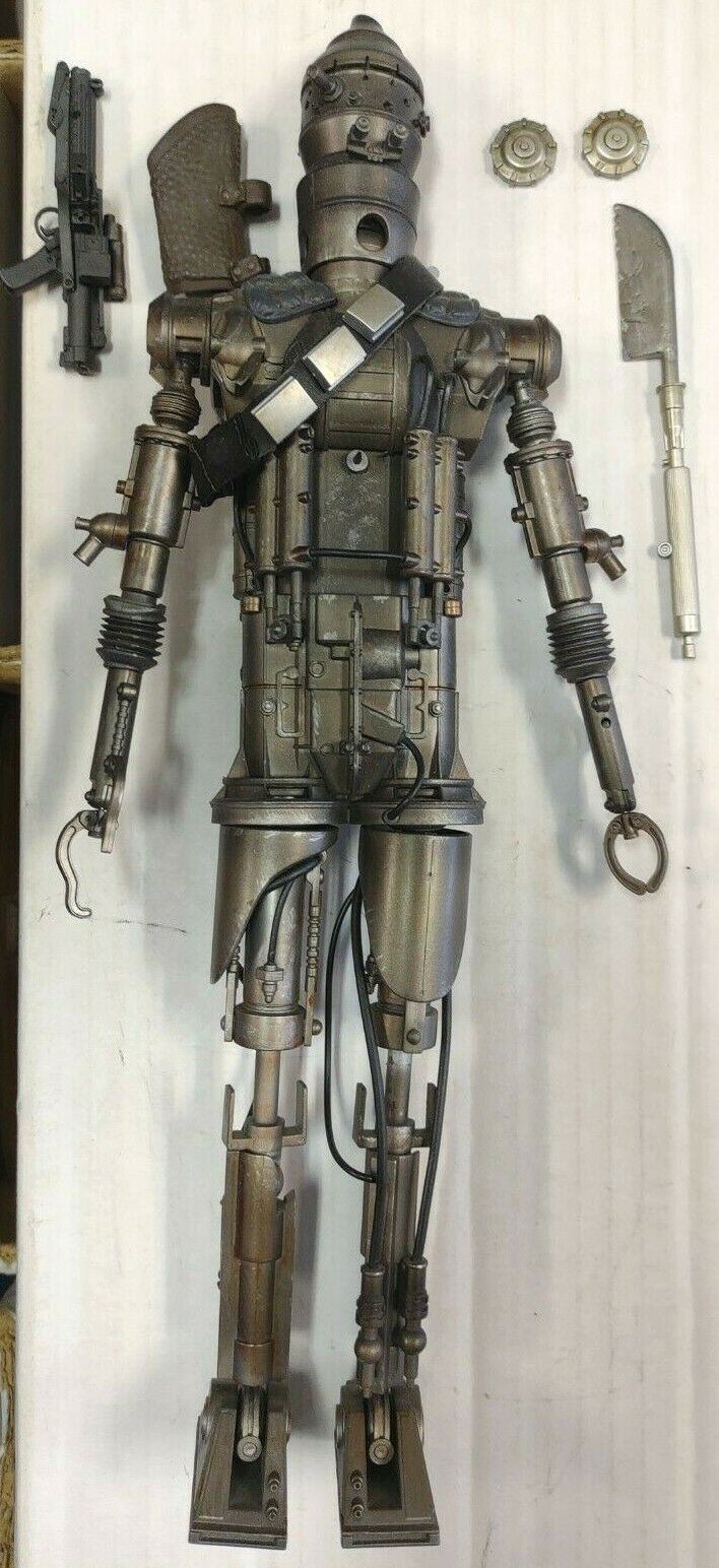 SIDESHOW IG-88 DELUXE Sixth scale Scum & Villainy toy Star Wars hot Collectibles on eBay thumbnail
