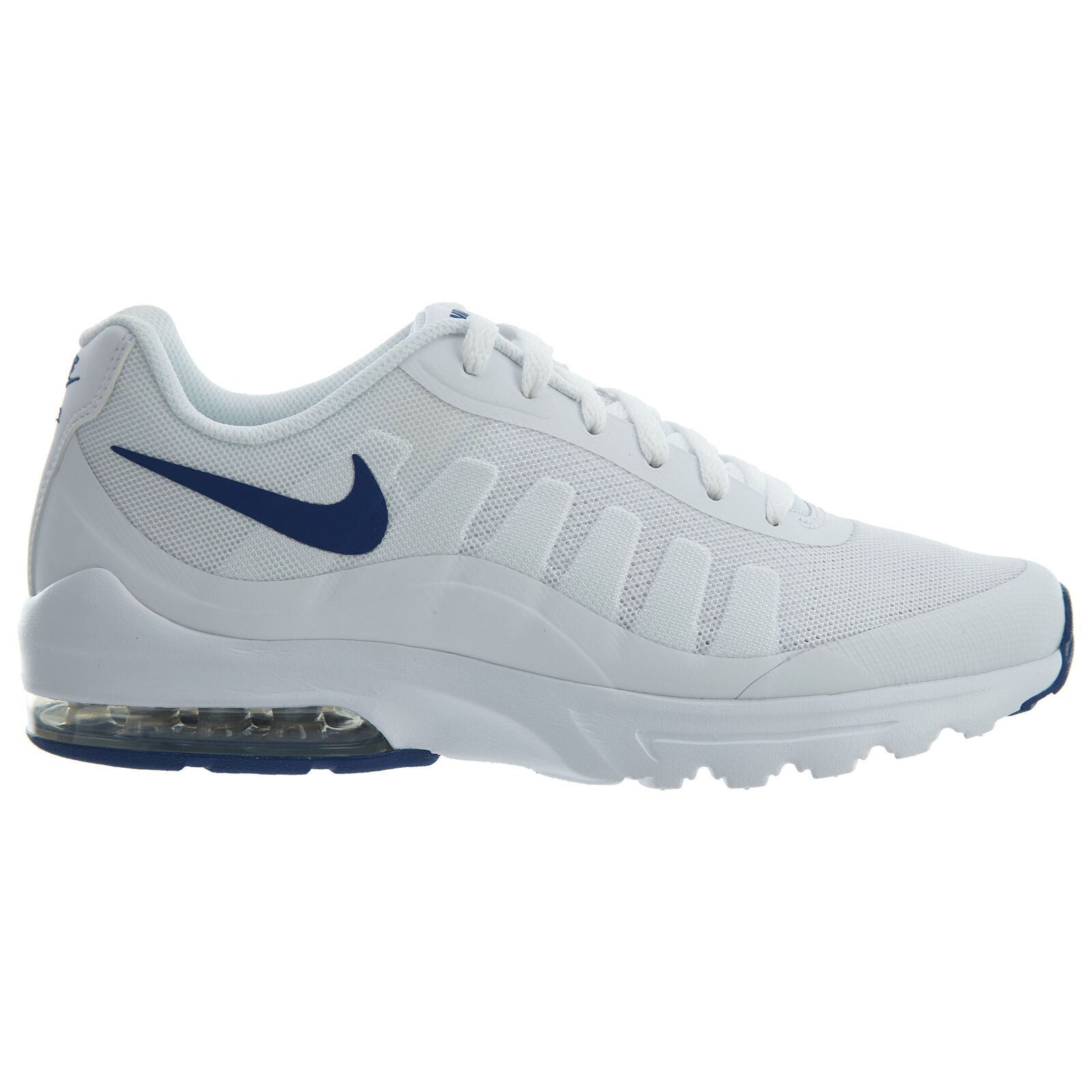 Nike Air Max Invigor Mens 749680-101 White Gym blueee Mesh Running shoes Size 6.5