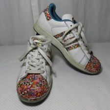 ed34b1a3c6c Women s adidas Originals White Floral Superstar W S83382 Size 8 for ...