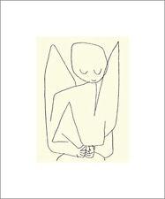 Paul Klee Poster Kunstdruck Siebdruck Vergesslicher Engel 60x50 cm Portofrei