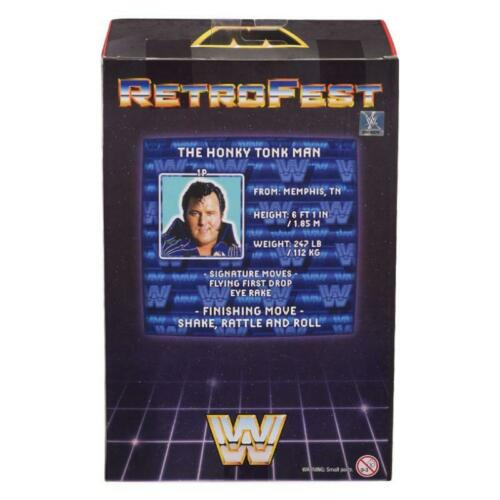 "WWE retrofest el nasal Tonk Man Exclusivo 6/"" Figura De Acción"