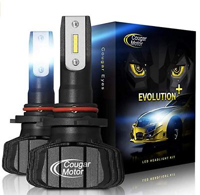 Cougar Motor Wireless H7 LED Bulb, 12000Lm 6500K Slim All
