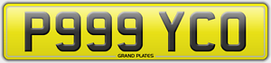 P999-YCO-NUMBER-PLATE-PSYCHO-REGISTRATION-NUTTER-CAR-REG-PSYCHOPATH-PAY-NO-FEES