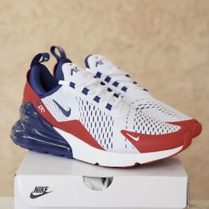 Nike Air Max 270 Usa Men S Size 9 Red White Blue Cw5581 100 Ds New Ebay