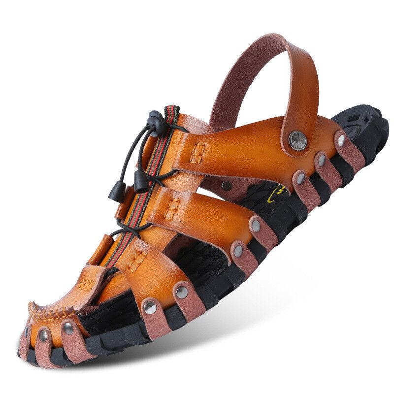 Fashion Summer Men Leisure Sandals shoes Outdoor Beach Sport Flats Slippers New