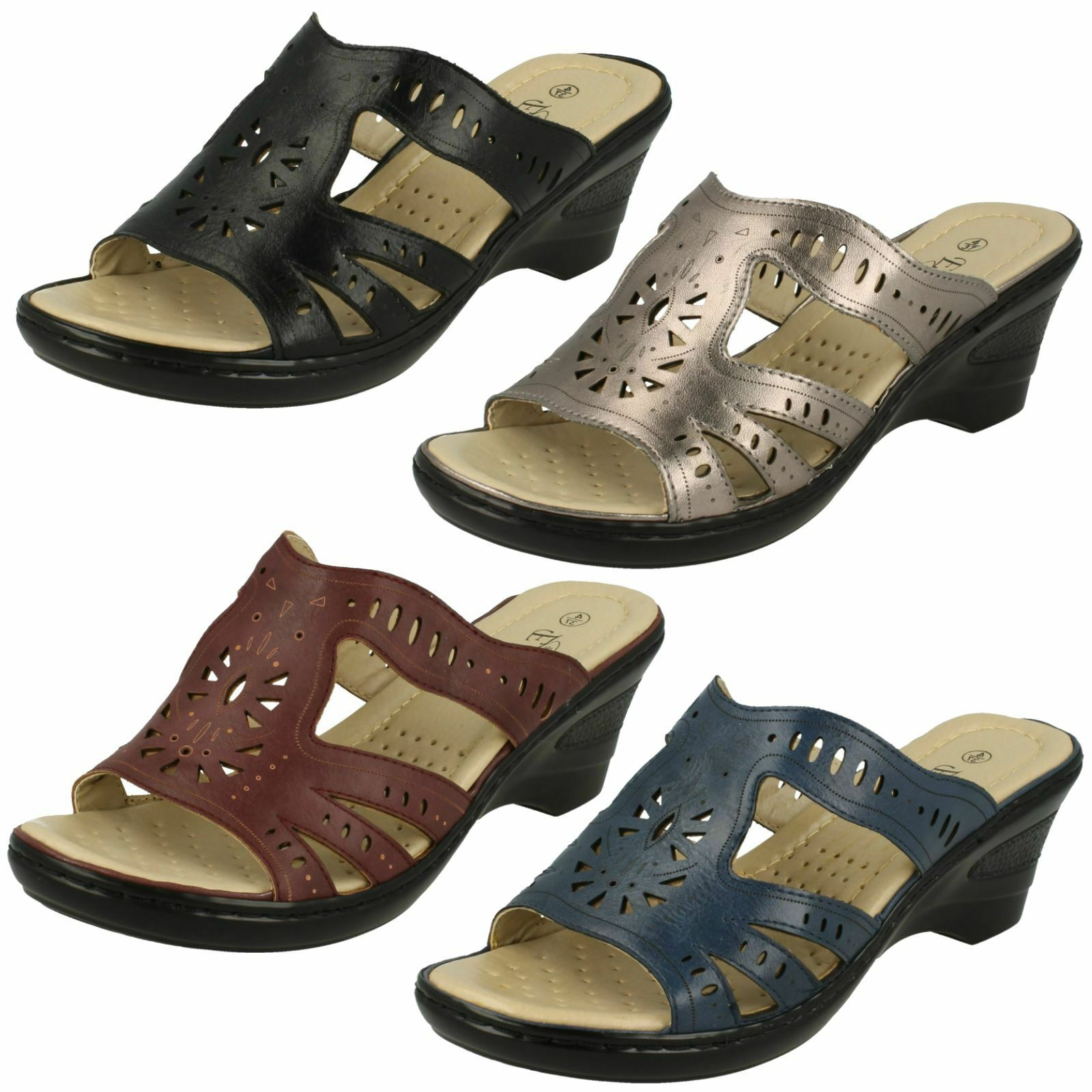 Rider Brasil Daytona III  Womens Pool Slide Sandals ALL SIZES AND COLOURS