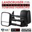 BettaView-Extendable-Caravan-Towing-Mirrors-Toyota-Landcruiser-100-Series-Black thumbnail 1