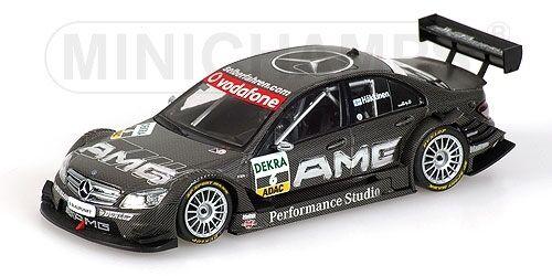 Mercedes  Benz C-Class AMG M. Hakkinen DTM 2007 1 43 model Minichamps  meilleure qualité