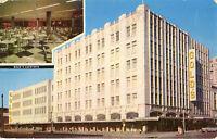 Lincoln NE Gold's Department Store & Cafeteria Postcard 1950s