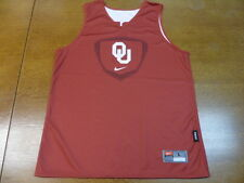 Authentic Team Issued Oklahoma Sooners Nike Basketball Practice Jersey #10 Large