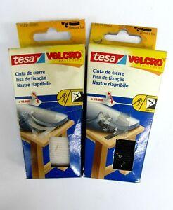 Tesa-velcro-nastro-riapribile-da-cucire-e-fissare-x-10-000-adesive-20-mm-x-1-m