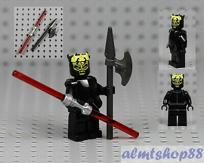 Authentic LEGO Star Wars Savage Opress Minifigure sw316 7957 Zabrak Sith Weapons