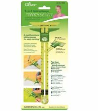 CLOVER 5-in-1 Sliding Hem Gauge Nancy Zieman Range CL 9506