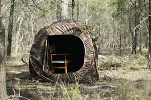 Image is loading 2-Man-Hide-Tent-Blind-Camo-Pop-Up- & 2 Man Hide Tent Blind Camo Pop Up Photography Bird Watching ...
