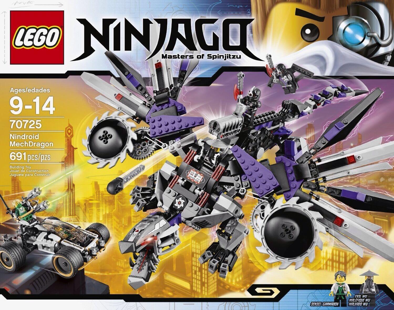 Lego Ninjago 70725 Nindroid MechDragon MISB Free Shipping