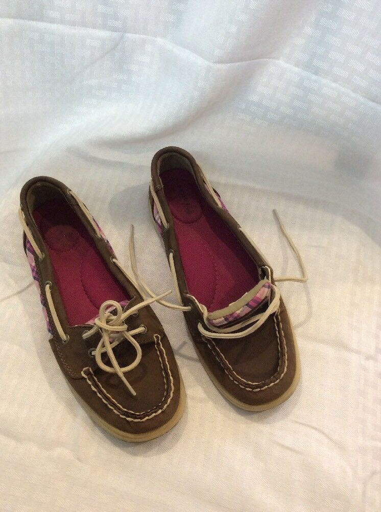 Sperry Top-siders Womens Oxford Boat Summer shoes EUC Size 8M color Multi