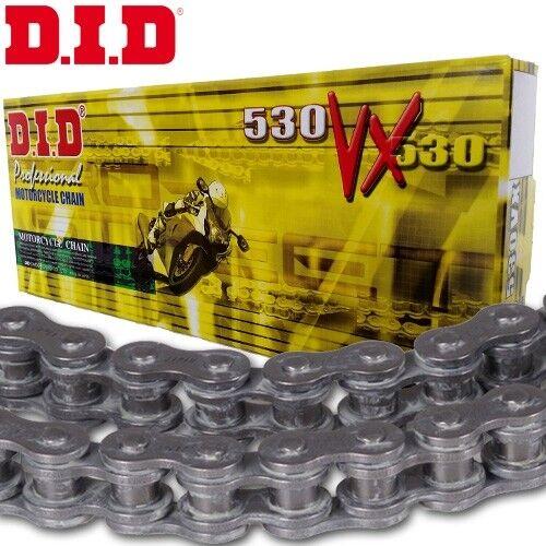 DID Chaîne Triumph Speed Triple 1050 Année de construction 2012 X-ring 530vx noir boutons