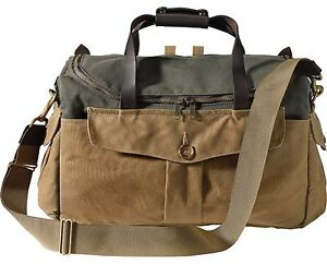 NEW! FILSON ORIGINAL SPORTSMAN CAMERA BAG -  70143 TAN   OTTER GREEN ... 8c1a7c333d