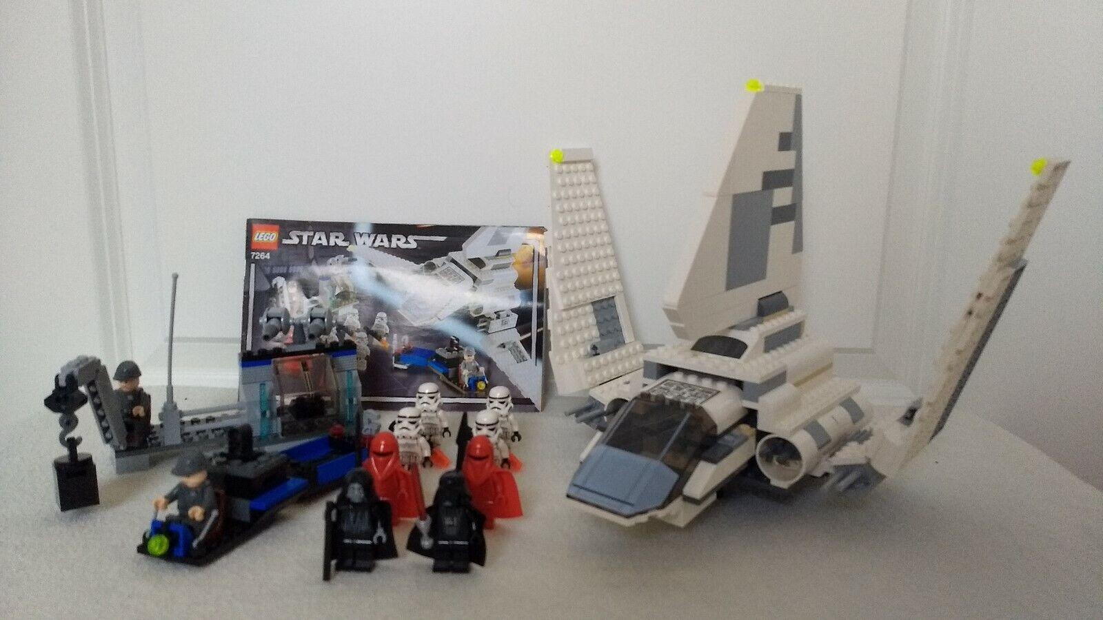 Lego Star Wars Set 7264 Imperial Inspection 10 Figuren Darth Vader +BA