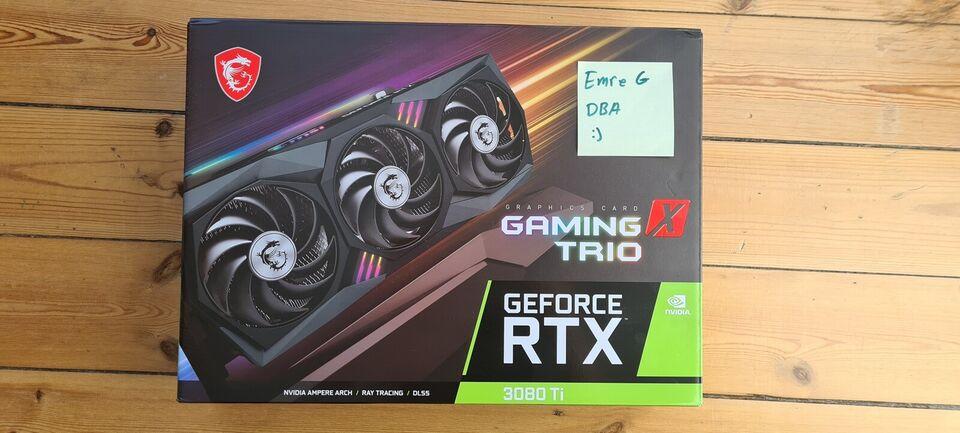 RTX 3080TI GAMING X TRIO MSI, 12 GB RAM, Perfekt